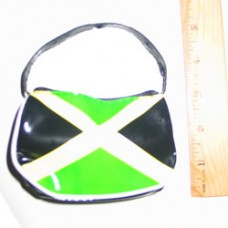 Jamaica penny purse with handle