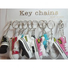 Jamaica Colorful Sneaker Shoe Keyring