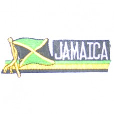 Jamaica 4.4 inch X 1.5 inch patch