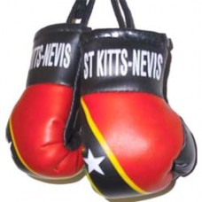 St. Kitts and Nevis Flag Mini Boxing Gloves