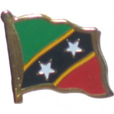 St. Kitts and Nevis Lapel Pin