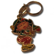 St. Kitts and Nevis Large Girl key ring