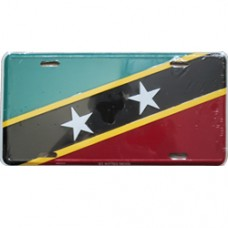 St. Kitts And Nevis License Plate