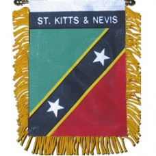 St. Kitts And Nevis Mini Banner