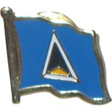 St. Lucia Lapel Pin