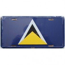 St. Lucia License Plate