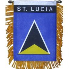 St. Lucia Mini Banner