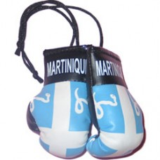 Martinique mini boxing gloves