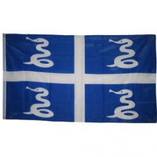 Martinique 3 feet X 5 feet polyester flag