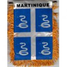 Martinique flag mini banner