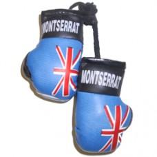 Montserrat mini boxing gloves