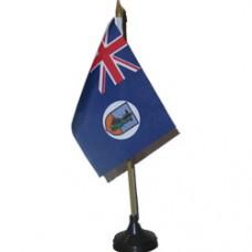 Montserrat 4 X 6 inch desk flag