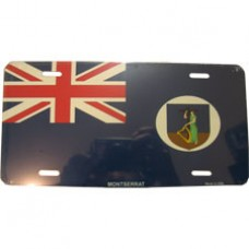 Montserrat License Plate