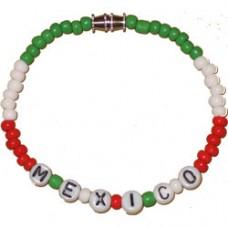 Mexico Beaded Bracelet