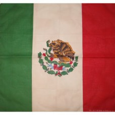 Mexico 100% Cotton Bandana
