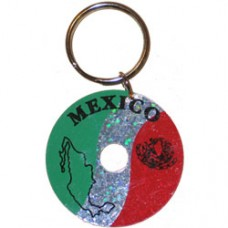 Mexico Circular key ring
