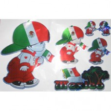 Mexico Multi-Pack Laser Stickers - BOY DESIGN