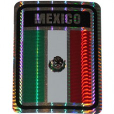 Mexico 4 inch X 3 inch decal