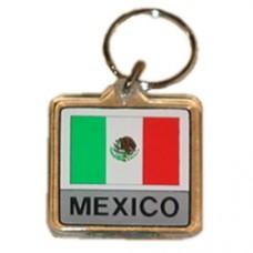 Mexico Square key ring
