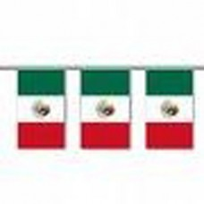 Mexico String Flag - 20 Flags