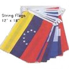 South American String Flag - 20 Islands.