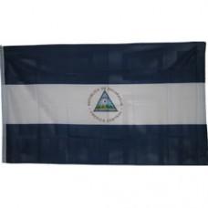 Nicaragua 3 feet X 5 feet polyester flag