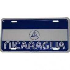 Nicaragua License Plate