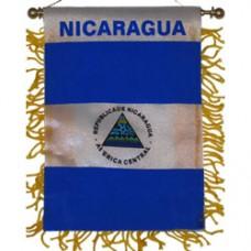 Nicaragua Mini Banner
