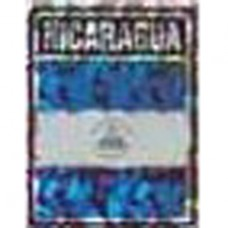 Nicaragua flag 4X3 inch decal