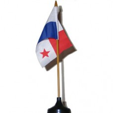 Panama 4 X 6 inch desk flag
