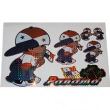Panama Multi-Pack Laser Stickers - BOY DESIGN