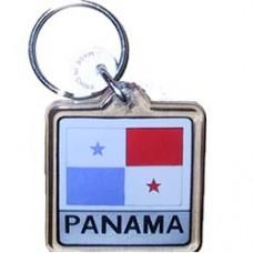 Panama Square key ring