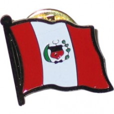Peru Lapel Pin