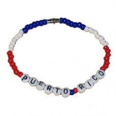 Puerto Rico Beaded Bracelet