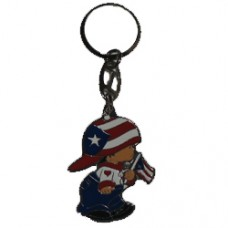 Puerto Rico Large Boy key ring