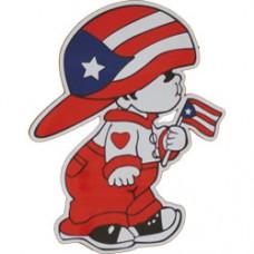 Puerto Rico Boy magnet