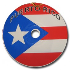 Puerto Rico CD Large PR Flag