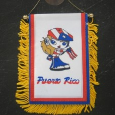 Puerto Rico Girl Mini Banner