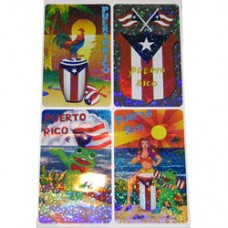 Puerto Rico Laser Stickers  VARIOUS DESIGNS