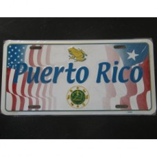 United States / Puerto Rico License Plate
