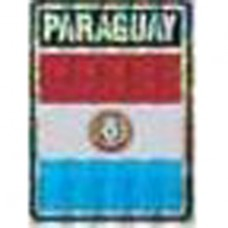 Paraguay flag 4X3 inch decal