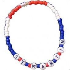 Saint Martin Beaded Bracelet