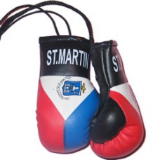 St. Maarten flag mini boxing gloves