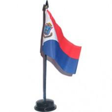 St. Maarten 4 X 6 inch desk flag