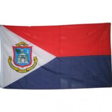 St. Martin/Maarten 2 feet X 3 feet polyester flag