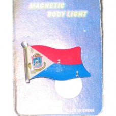 St. Maarten Lapel Pin With Light