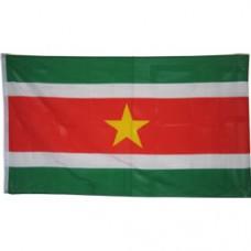 Suriname 3 feet X 5 feet polyester flag