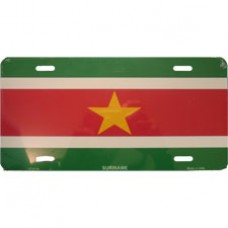 Suriname License Plate