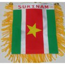 Suriname flag mini banner