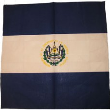 El Salvador 100% Cotton Bandana